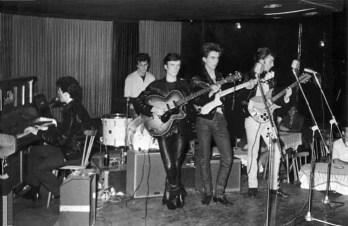 The Beatles at the Top Ten Club, Hamburg, 1961