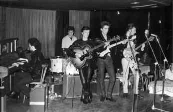 The Beatles at the Top Ten Club, Hamburg, 1961