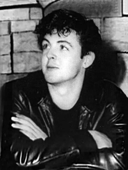 Paul McCartney at the Cavern Club, Liverpool, 1961