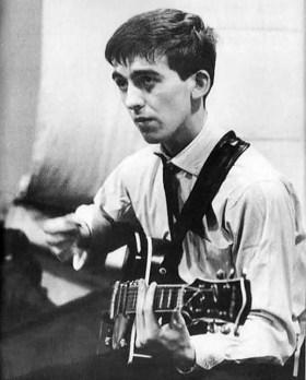 George Harrison, EMI Studios, Abbey Road, 4 September 1962