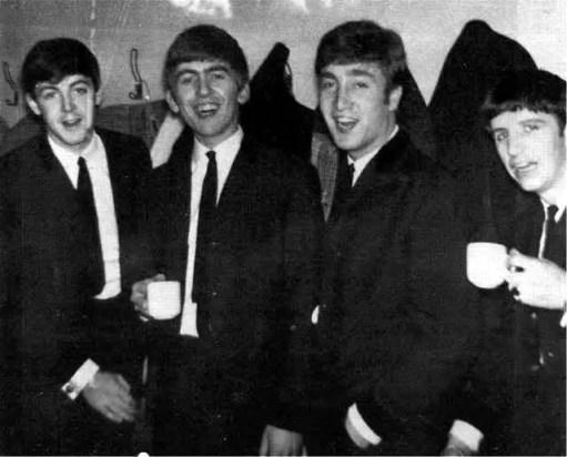 The Beatles at the Swimming Baths, Leyton, London, 8 April 1963