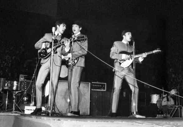The Beatles at the NME Poll-Winners' All-Star Concert, 21 April 1963