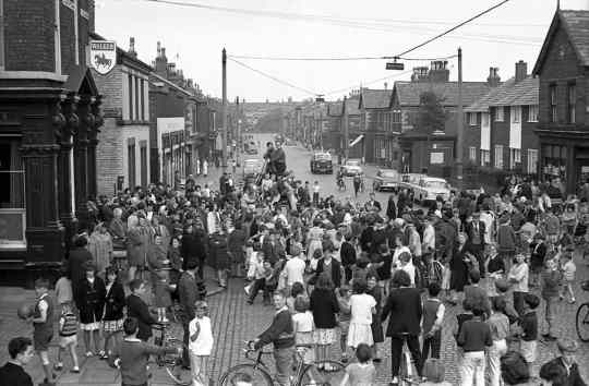 Admiral Grove, Liverpool. Scene from The Mersey Sound, BBC, 30 August 1963