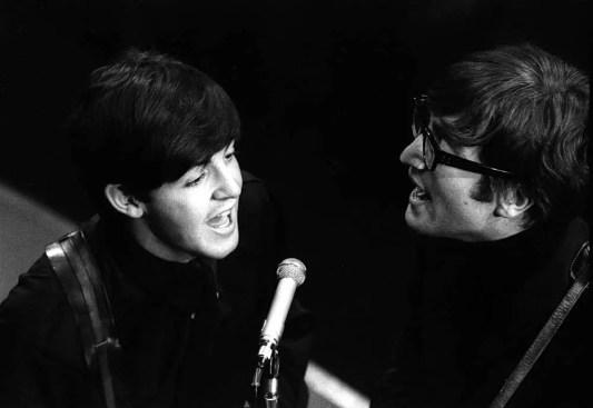 Paul McCartney and John Lennon, Saturday Club, BBC, 17 December 1963