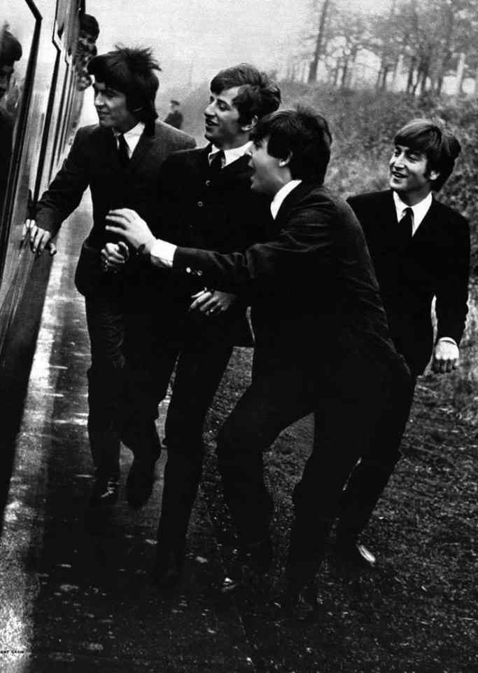 The Beatles in A Hard Day's Night, 4 March 1964