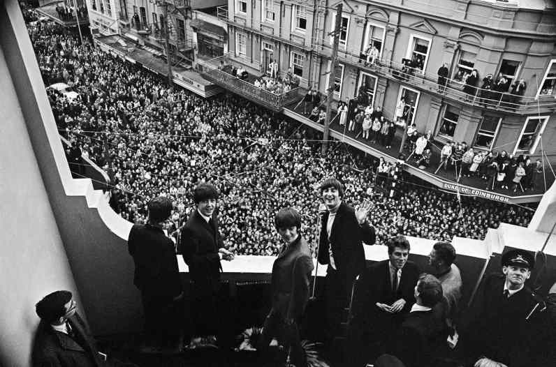 The Beatles in Wellington, New Zealand, 22 June 1964