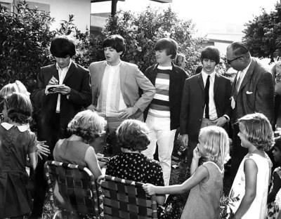 The Beatles at Key West, Florida, 10 September 1964