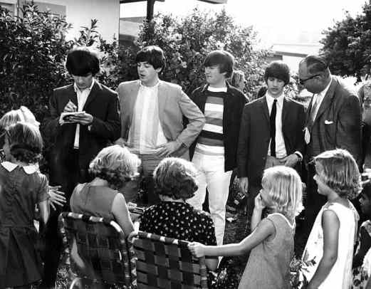 The Beatles at Key West, Florida, 10 September 1964