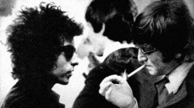 John Lennon and Bob Dylan, 1965