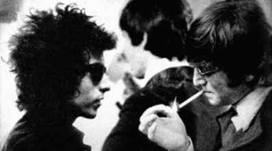 John Lennon and Bob Dylan, 1965