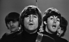 The Beatles in the Help! promo, 23 November 1965