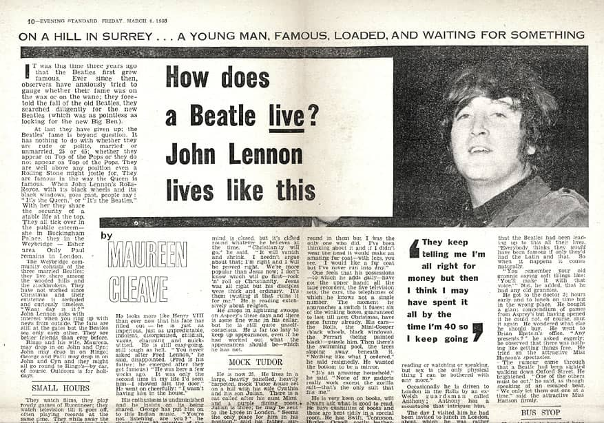 John Lennon Were More Popular Than Jesus The Beatles Bible