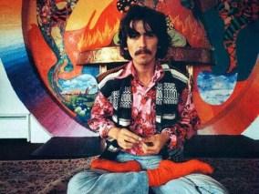George Harrison at Kinfauns, 1967