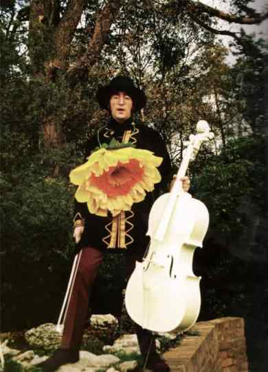 John Lennon filming Blue Jay Way for Magical Mystery Tour, 3 November 1967