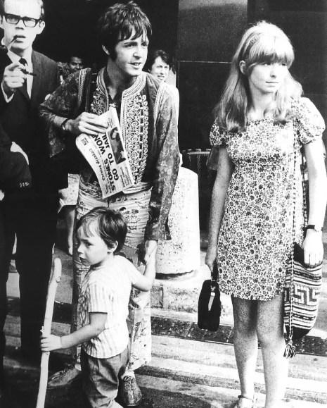 Paul McCartney and Jane Asher, 1967
