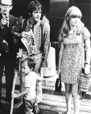 Paul McCartney and Jane Asher, 1967