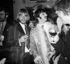Brian Jones and Ringo Starr, 19 January 1968