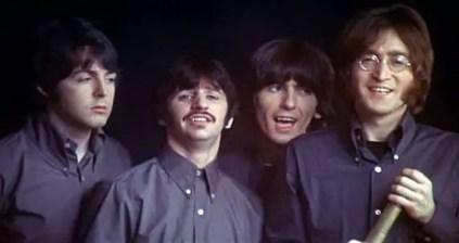 The Beatles film their Yellow Submarine cameo, 25 January 1968