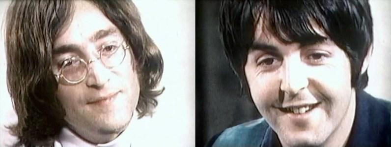 John Lennon and Paul McCartney interviewed in New York, 13 May 1968