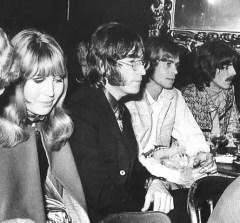 John and Cynthia Lennon, 1968