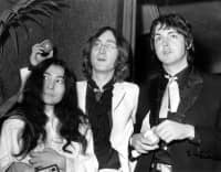 Yoko Ono, John Lennon and Paul McCartney, 1968
