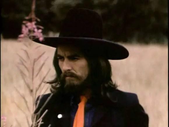 George Harrison at The Beatles' final photography session, Tittenhurst Park, 22 August 1969