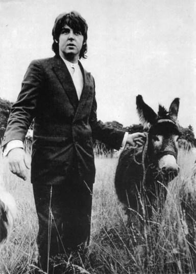Paul McCartney at The Beatles' final photography session, Tittenhurst Park, 22 August 1969