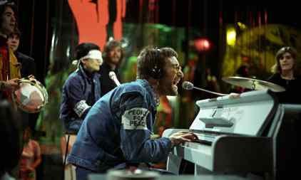 John Lennon performs Instant Karma! on Top Of The Pops with Plastic Ono Band, 11 February 1970