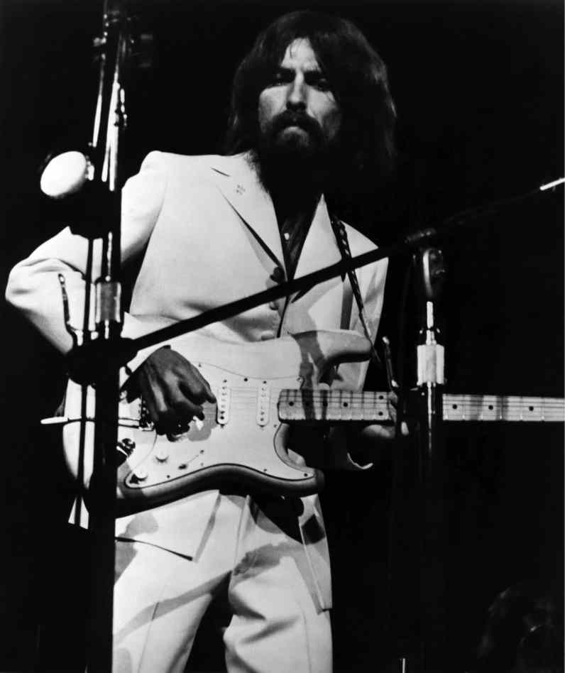 George Harrison at the Concert For Bangladesh, 1 August 1971