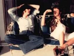 John Lennon and Paul McCartney, 1974