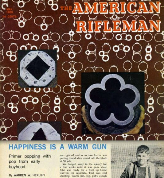 'Happiness Is A Warm Gun' feature from American Rifleman magazine