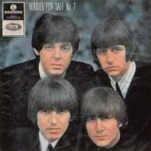 Beatles For Sale No. 2 EP artwork – Australia