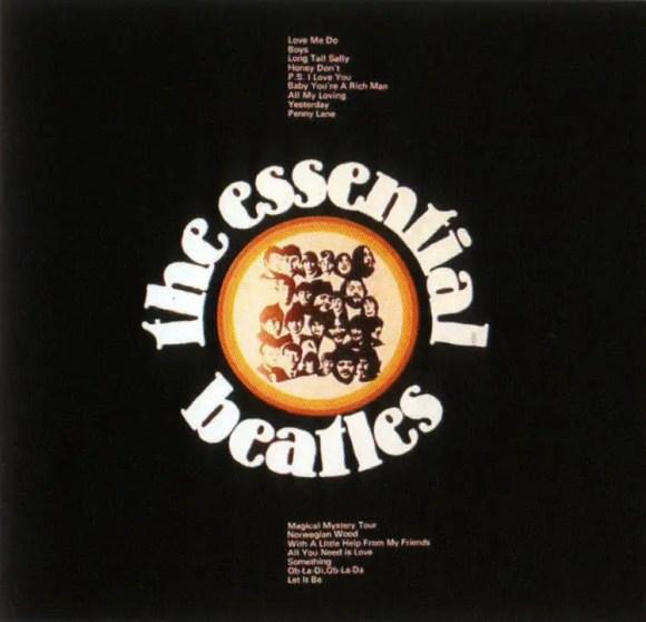 The Essential Beatles album artwork - Australia, New Zealand