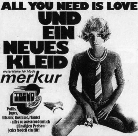 All You Need Is Love single artwork - Austria