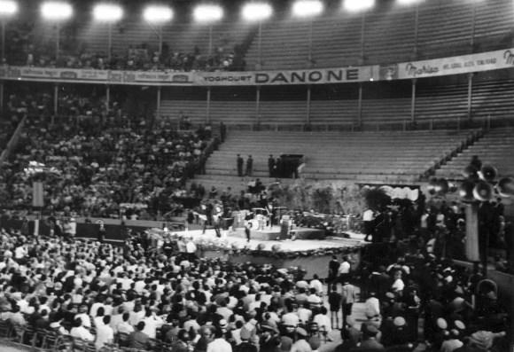 The Beatles in Barcelona, Spain, 3 July 1965