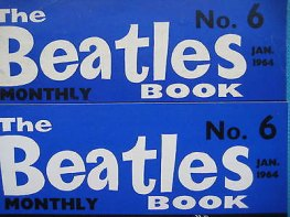 Beatles Book Monthly issue 6 – original and reprint