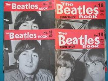 Beatles Book Monthly issue 18 – original and reprint