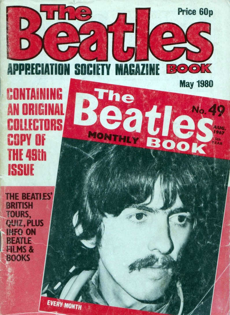 The Beatles Book Monthly issue 49 reprint – May 1980
