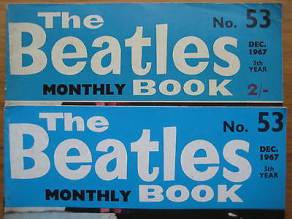 Beatles Book Monthly issue 53 – original and reprint
