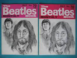 Beatles Book Monthly issue 70 – original and reprint