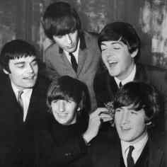 The Beatles with Jimmie Nicol, June 1964