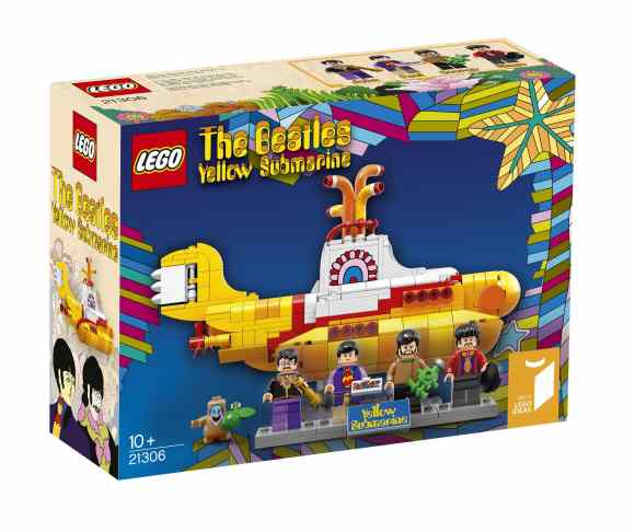 Beatles Yellow Submarine set box by Lego