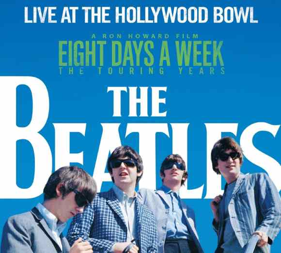 The Beatles: Live At The Hollywood Bowl cover artwork
