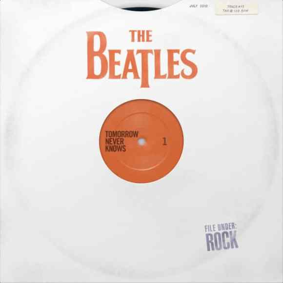 Cover artwork for The Beatles' iTunes compilation Tomorrow Never Knows
