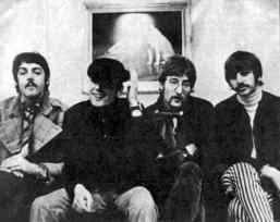 The Beatles with Victor Spinetti, 1967