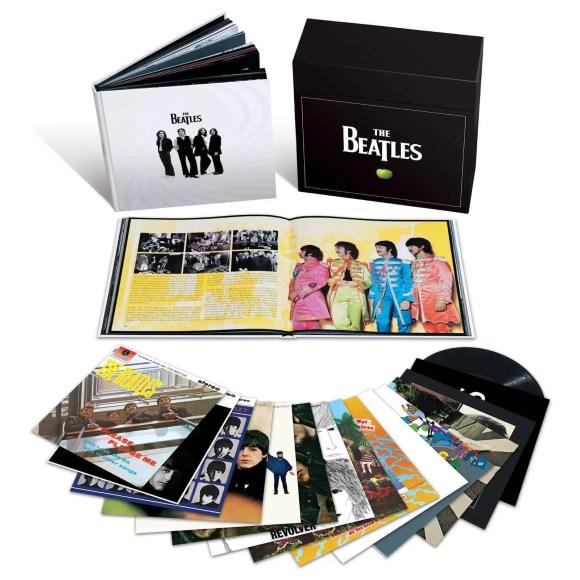 The Beatles' limited edition vinyl box set, 2012