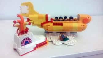 The Beatles' LEGO Yellow Submarine