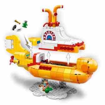 The Beatles – LEGO Yellow Submarine set