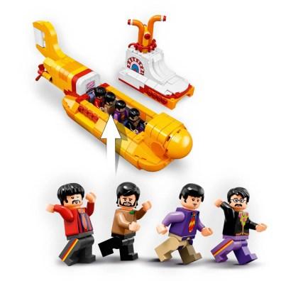The Beatles –LEGO Yellow Submarine set