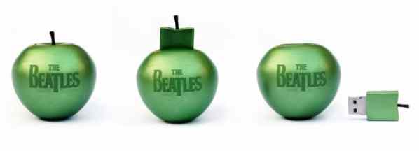 The Beatles' apple USB collection
